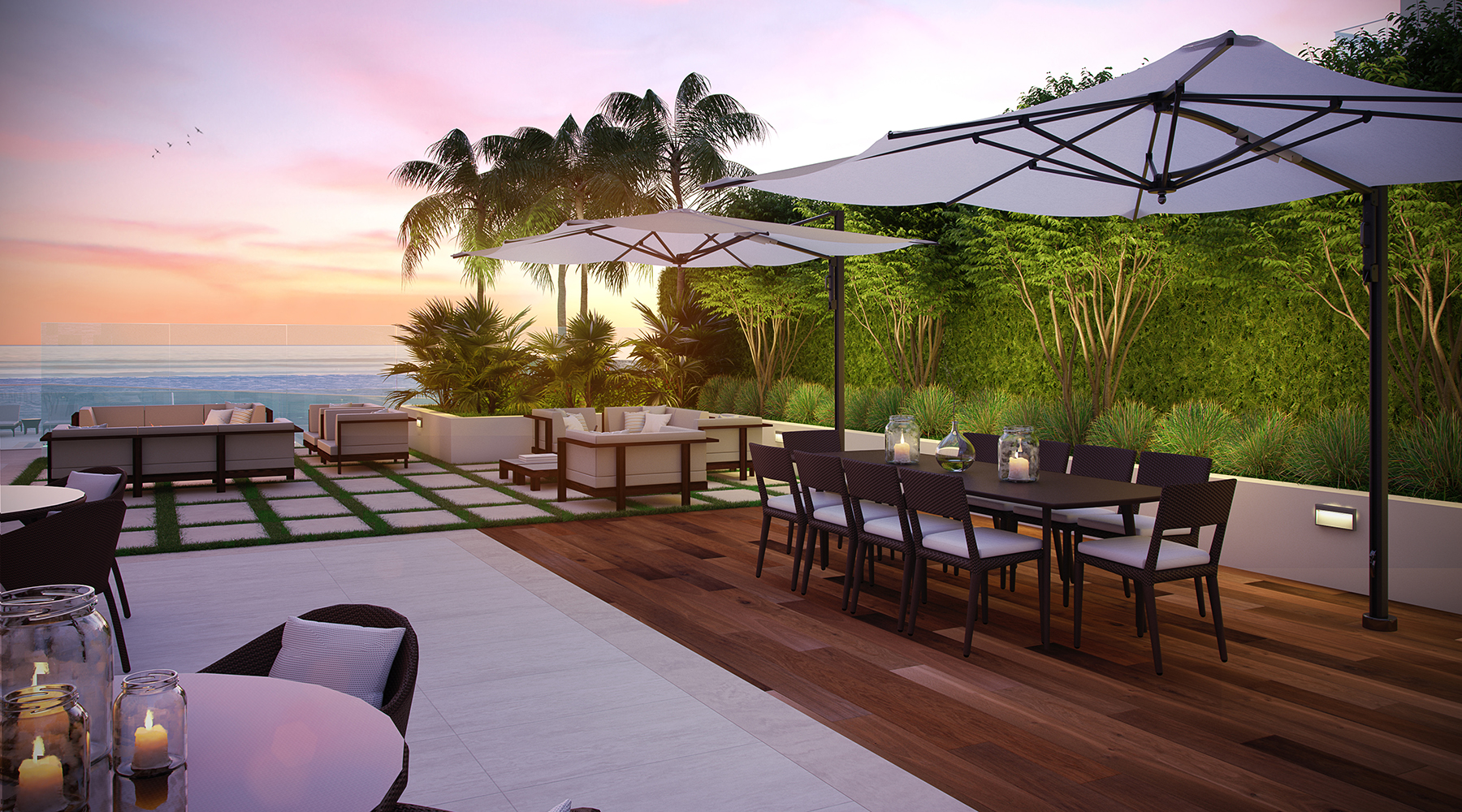 Regency Tower South, Ft. Lauderdale, Florida; Outdoor Dining